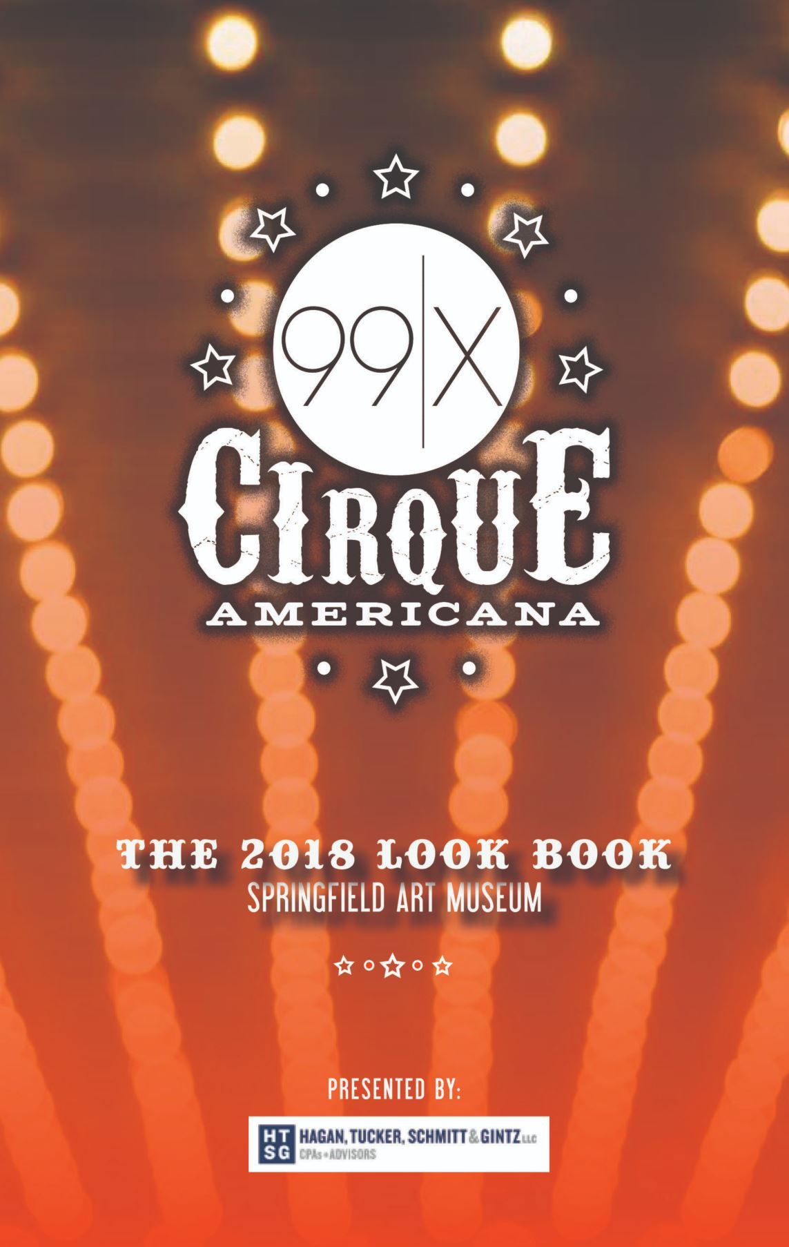 Cirque Americana Look Book cover