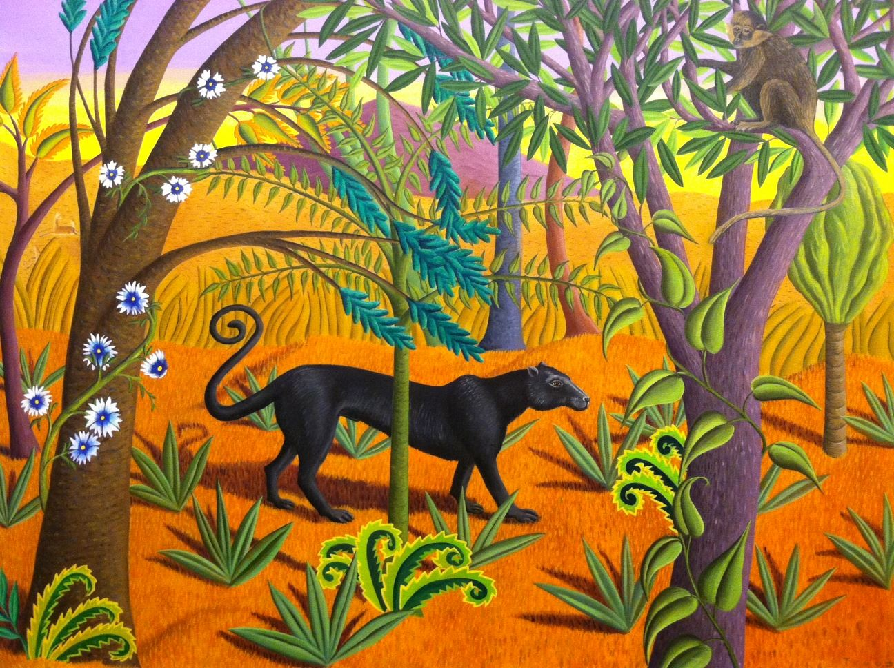 "Jane Troup, ""The Black Panther"""