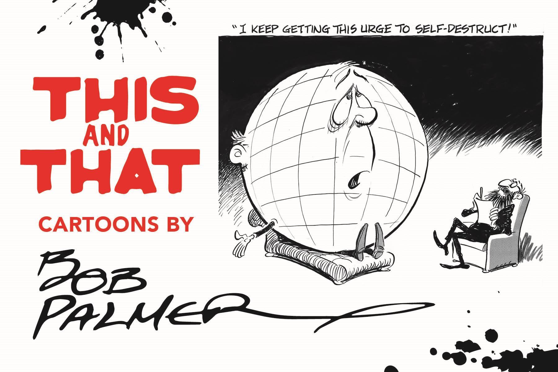 This & That: Cartoons by Bob Palmer identity