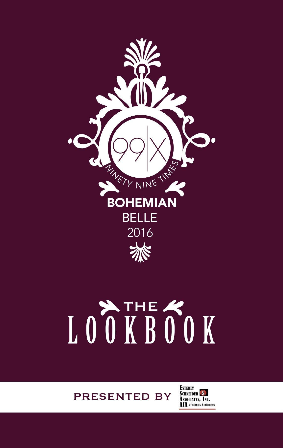 99x Bohemian Belle Look Book Cover