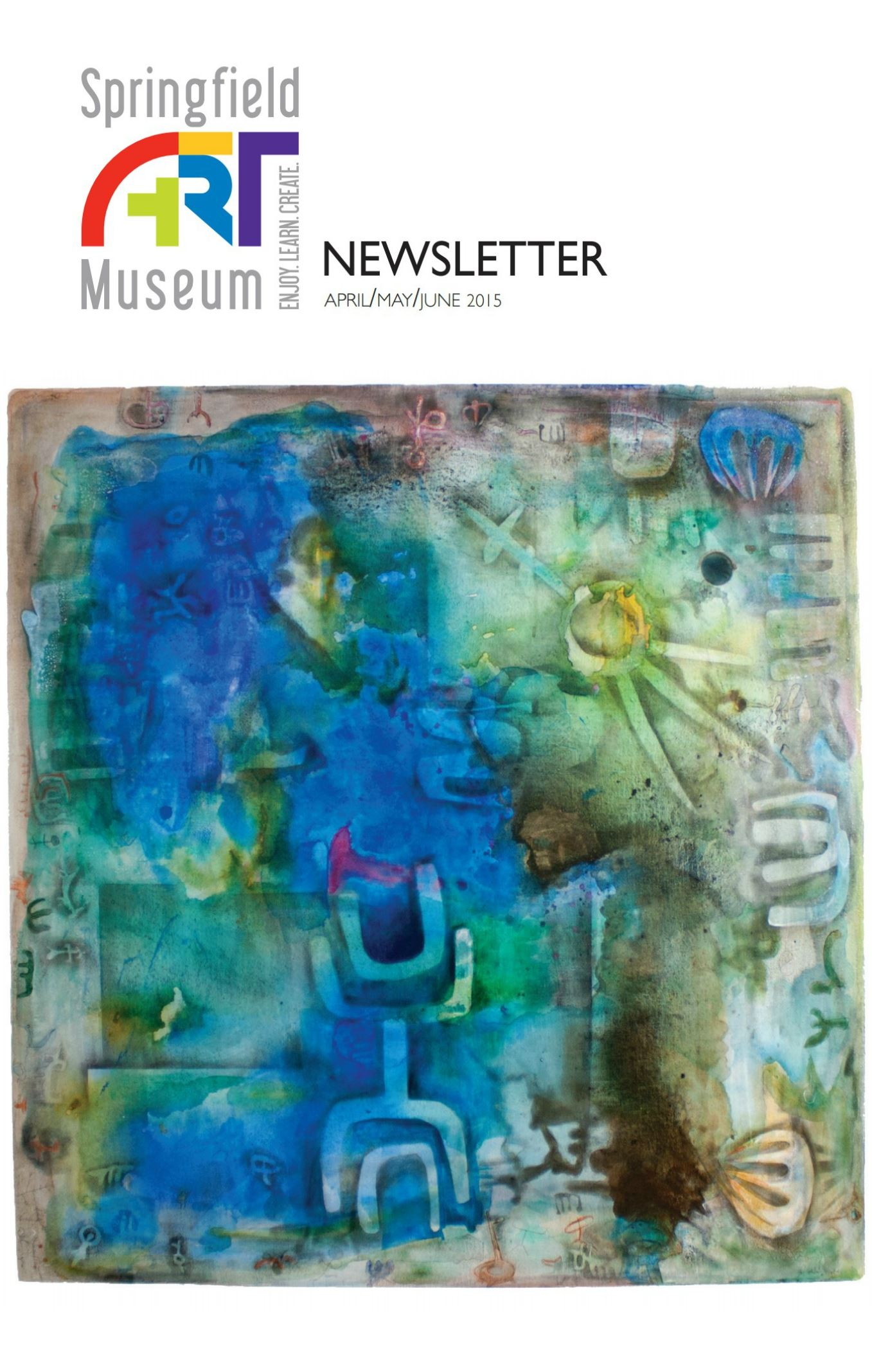 April-June 2015 Newsletter Cover