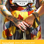 Watercolor USA 2017 Poster