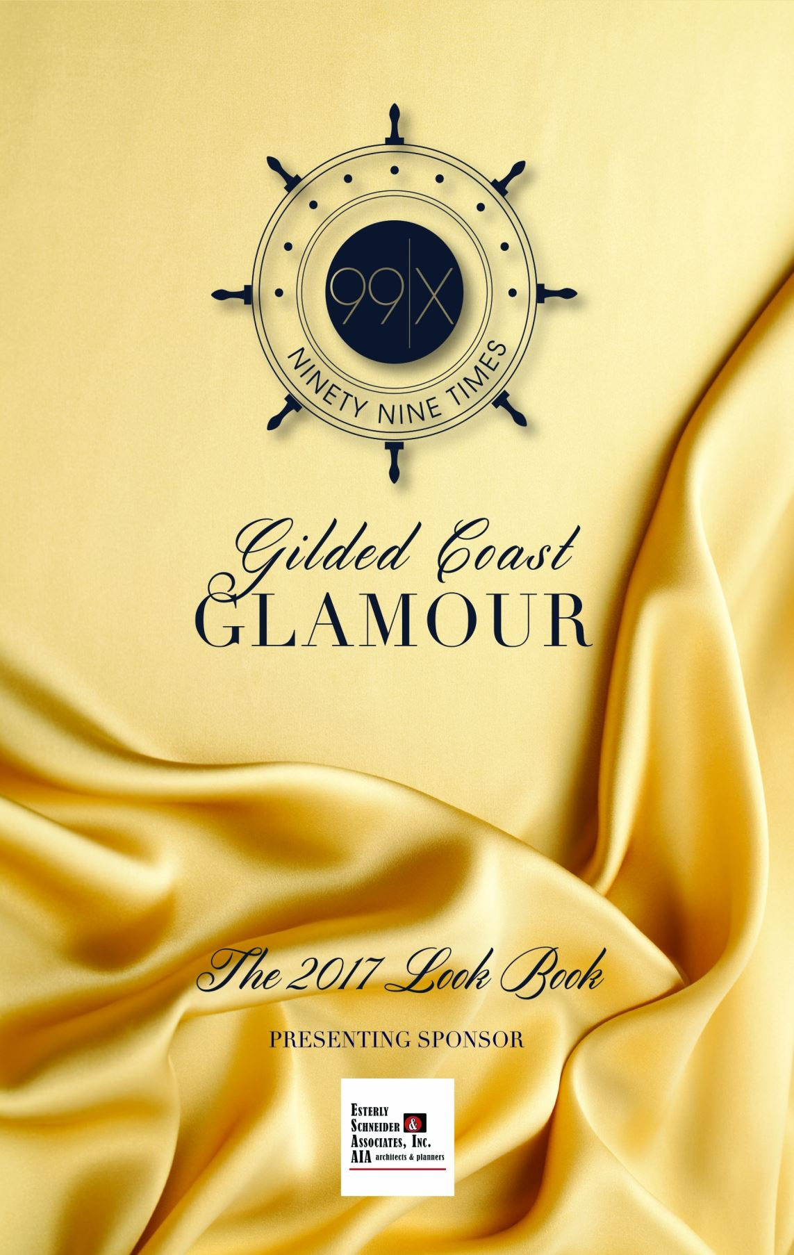 99x: Gilded Coast Glamour Look Book 2017 Cover