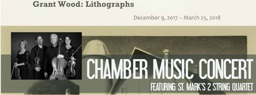 Chamber Music Concert: Grant Wood Lithographs