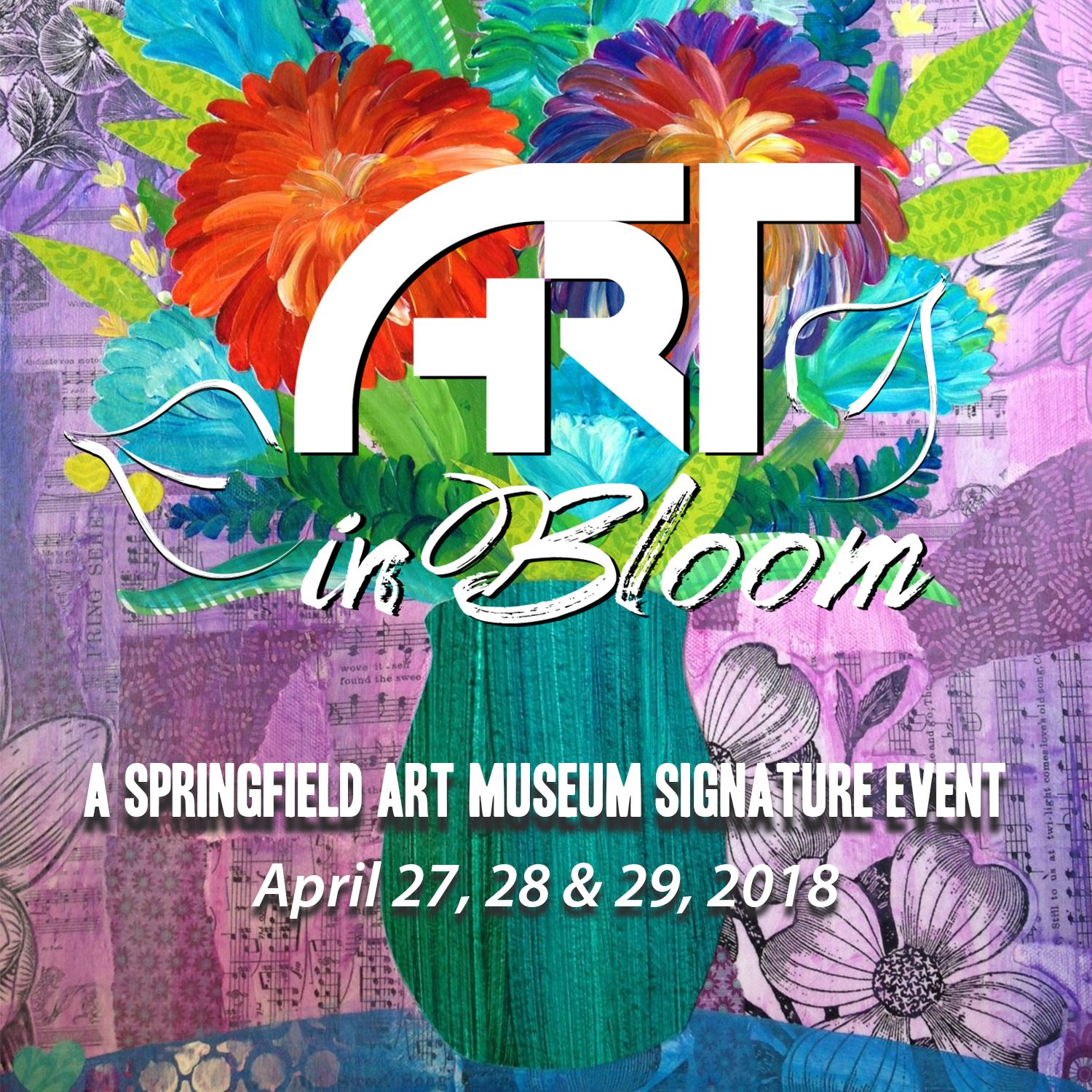 Art In Bloom identity